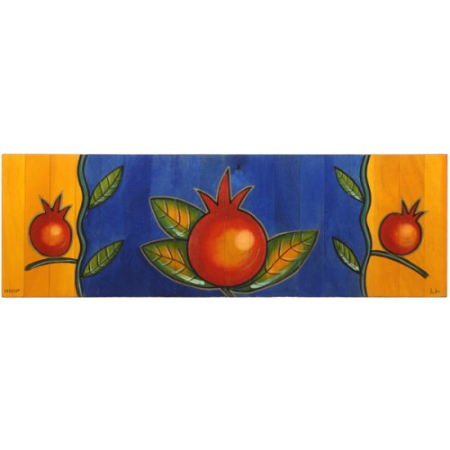 Table Runner Mondo Pomegranate by Kakadu Art