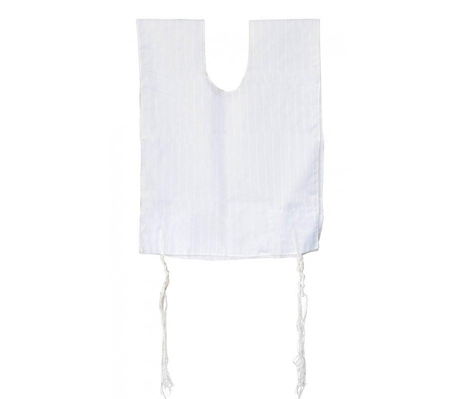 Talitnia Cotton Tallit Katan Kosher with tzitzit   aJudaica.com