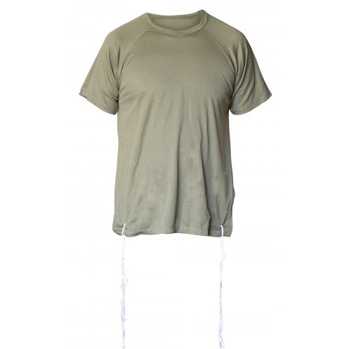 Talitnia Dry-Fit Tzitzit T-shirt With Kosher Tzitzis - Olive Green