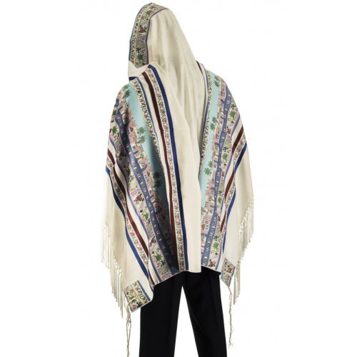 Talitnia Shivat Haminim Tallit Seven Species Prayer Shawl