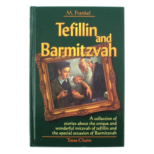 Tefillin and Bar-Mitzvah book