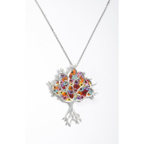 Thousand Flower Tree of Life Pendant