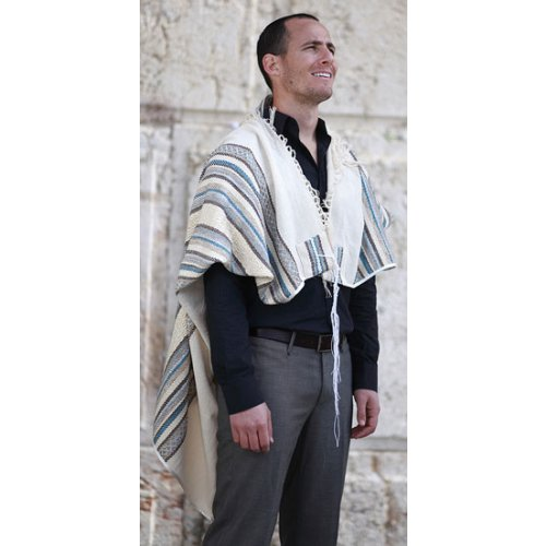 Weaving Creation Hand Woven Tallit Hod - Majesty