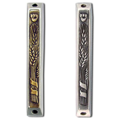 Wheat Sheaves Mezuzah Case for Bounty