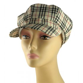 Womens Beige and Black Checked Cap.  16.90. Price Range a90eb234d874